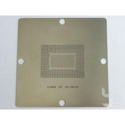 Шаблон 90x90мм GF104-325-A1 за ребол на nVidia BGA чипове