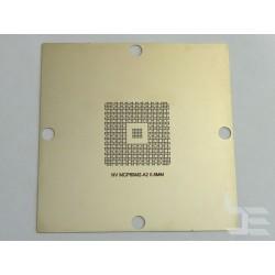 Шаблон 90x90мм MCP89M2-A2 за ребол на nVidia BGA чипове