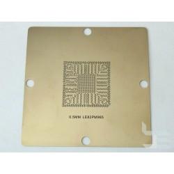 Шаблон 90x90мм LE82PM965 за ребол на Intel BGA чипове