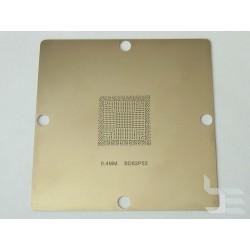 Шаблон 90x90мм BD82P55 за ребол на Intel BGA чипове