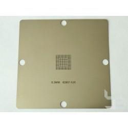 Шаблон 90x90мм 82801IUX за ребол на Intel BGA чипове
