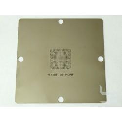 Шаблон 90x90мм D510-CPU за ребол на Intel BGA чипове