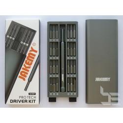 Комплект отвертка с битове Jakemy JM-8168, магнитни, 25 части