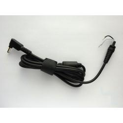 Захранващ DC кабел за Asus, 4.0x1.35мм ъглов конектор