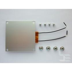 Подгряваща плоча с PTC нагревател, 260°C, 300W, 70x70мм