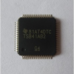 Чип Texas Instruments TSB41AB2, IEEE1394, Two port Transceiver, нов